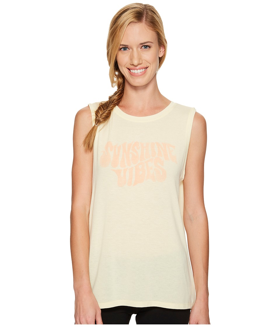 Spiritual Gangster - Sunshine Vibes Chakra Tank Top (Sunshine) Women's Sleeveless