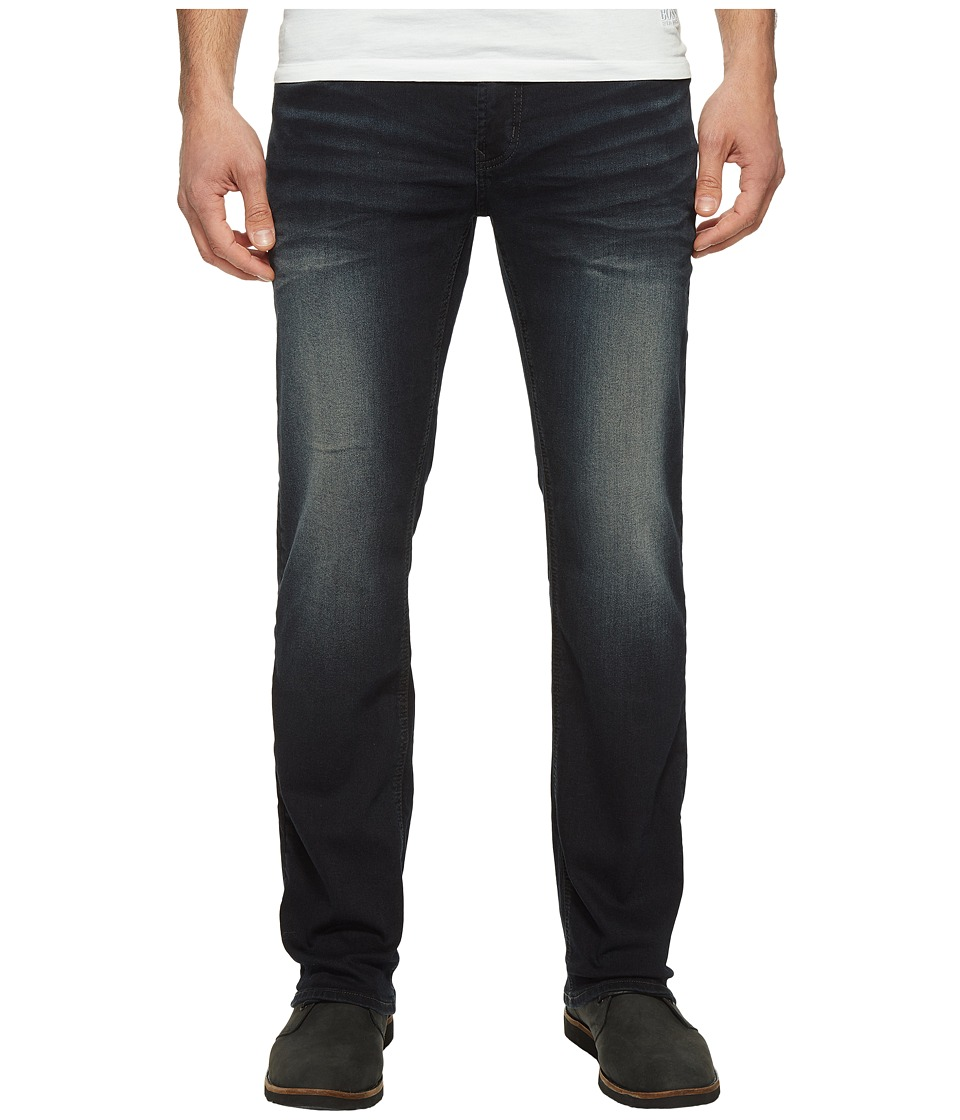Buffalo David Bitton - Driven Relaxed Straight Leg Jeans in Faded Dark Wash (Faded Dark Wash) Men's Jeans