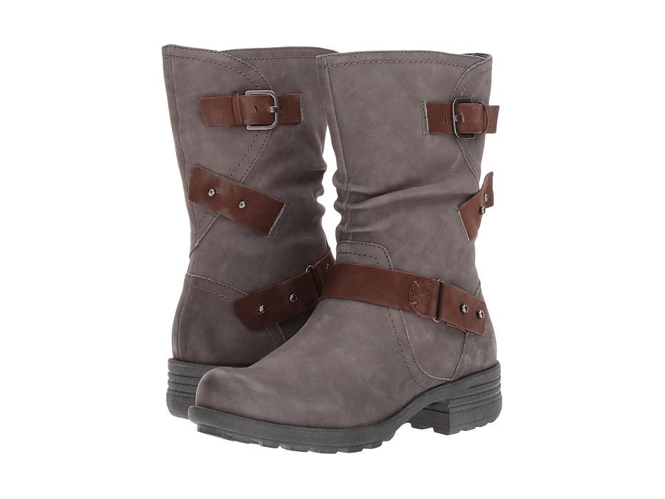 Rockport Cobb Hill Collection Cobb Hill Brunswick Boot (Dark Grey Nubuck) Women