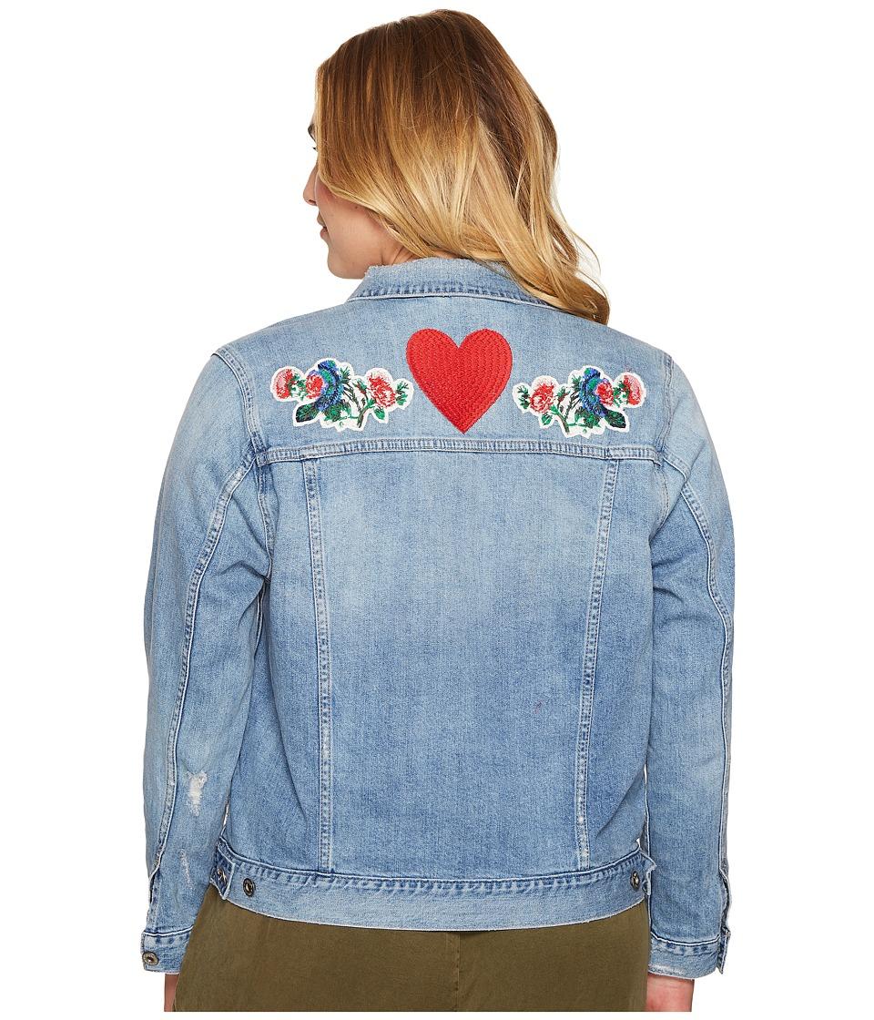 Lucky Brand - Plus Size Plus Classic Denim Jacket (Constitution) Women's Coat