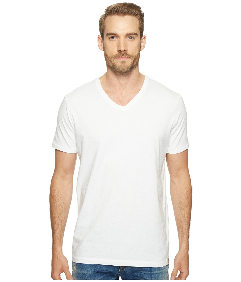 Lucky Brand - V-Neck Tee (Bright White) Men's T Shirt