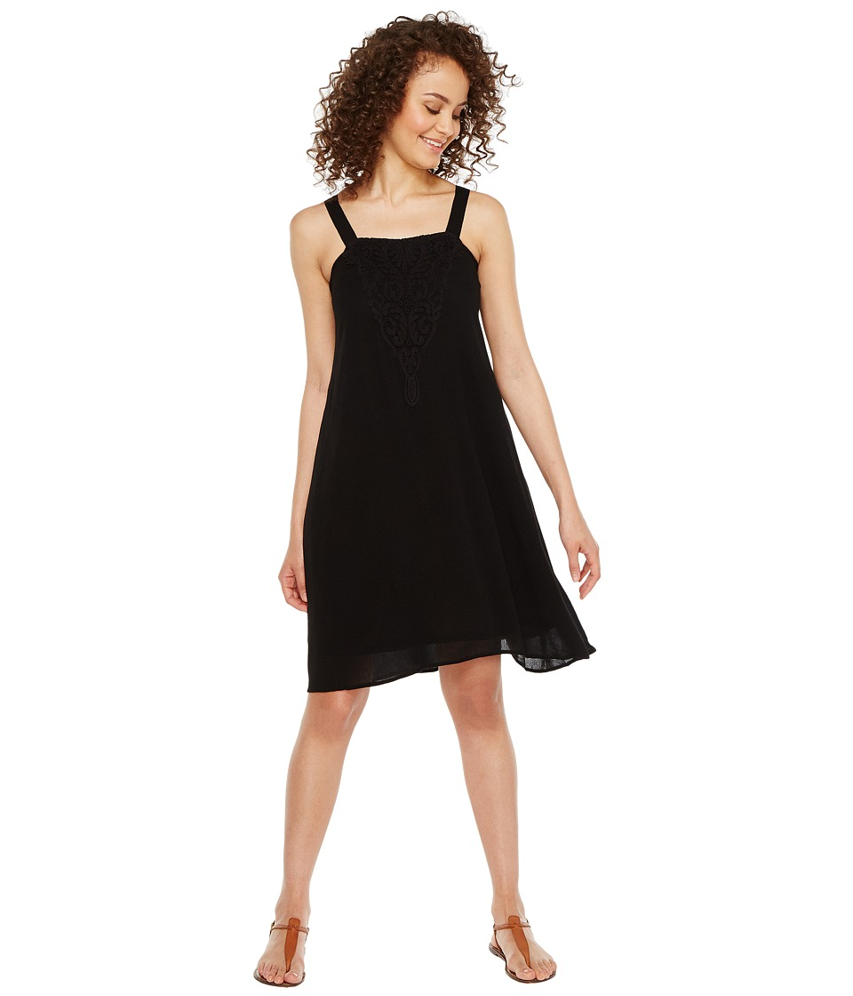 Roper - 1008 C/P Crepe Dress (Black) Women's Dress