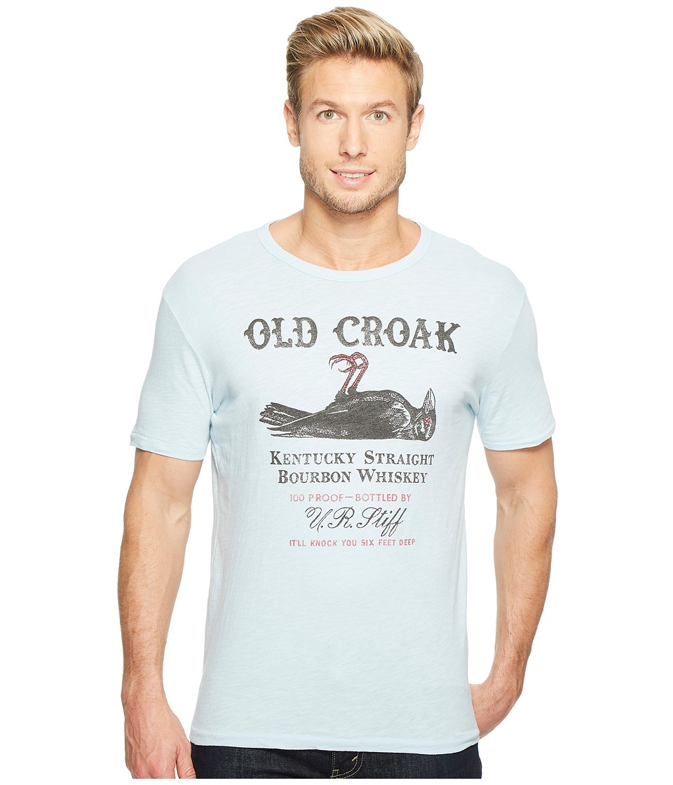 Lucky Brand - Old Crow Graphic Tee (Spring Blue) Men's T Shirt