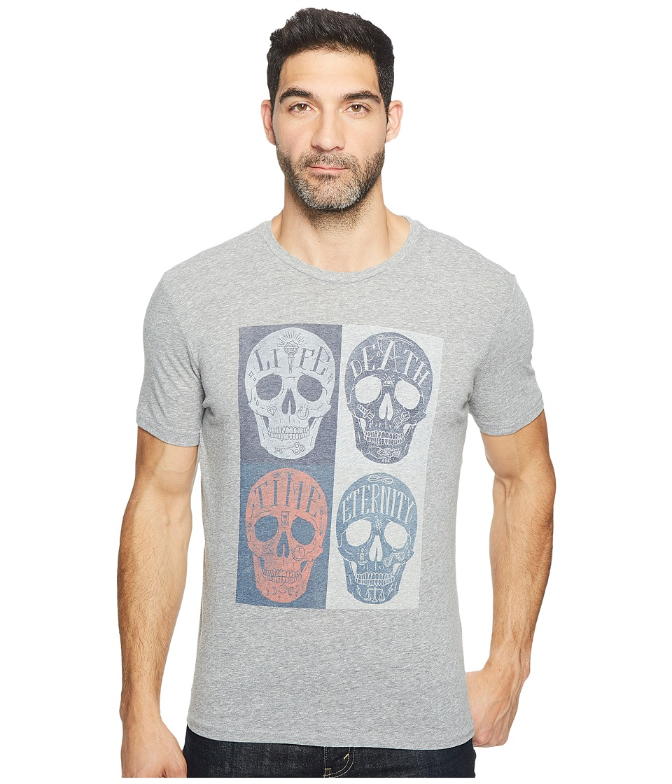 Lucky Brand - Mori Skulls Graphic Tee (Quiet Shade) Men's T Shirt