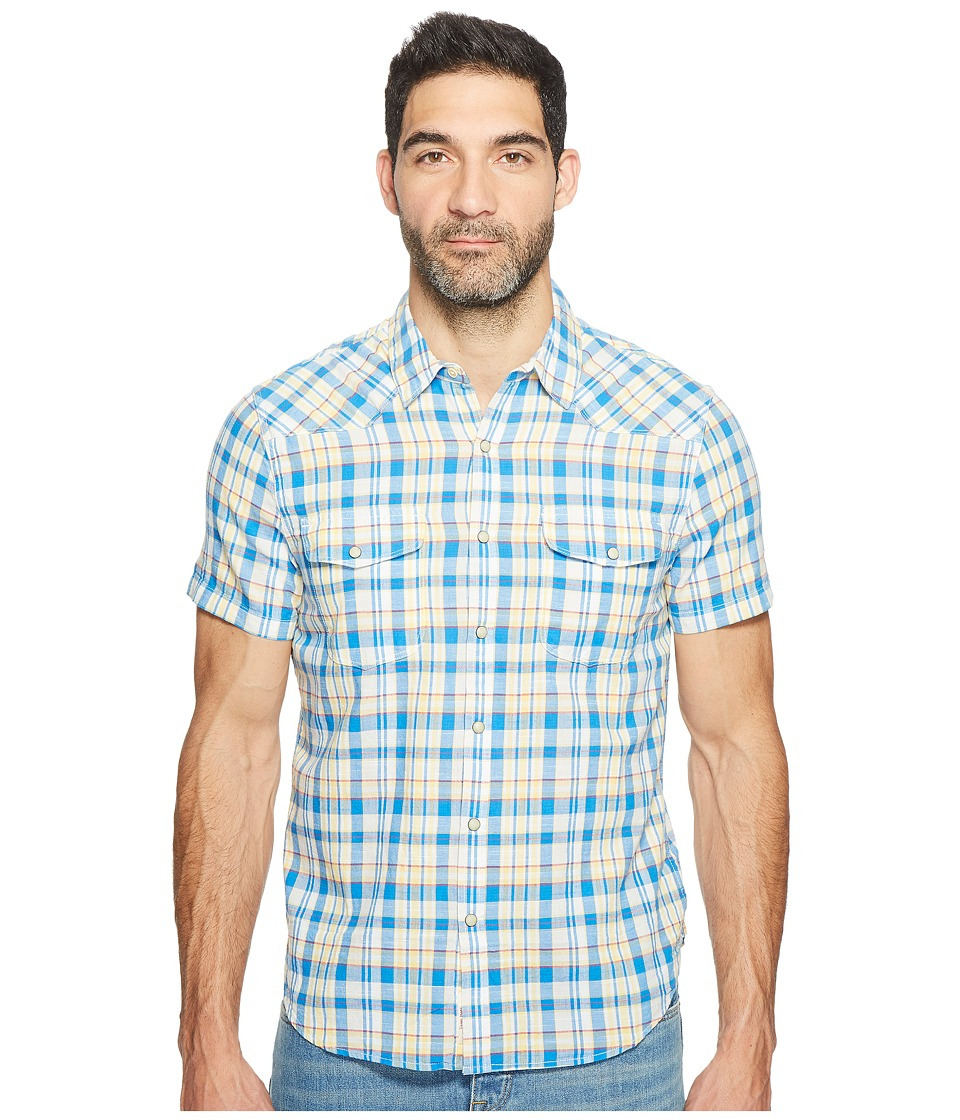 Lucky Brand - Short Sleeve Western Shirt (Multi) Men's Clothing