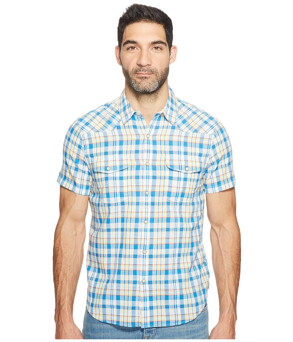 Lucky Brand - Short Sleeve Western Shirt (Multi) Men's Clothing
