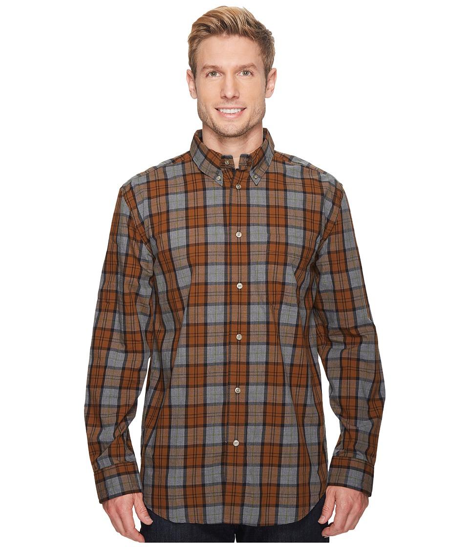 Filson Sutter Sport Shirt (Bronze/Heather Gray) Men