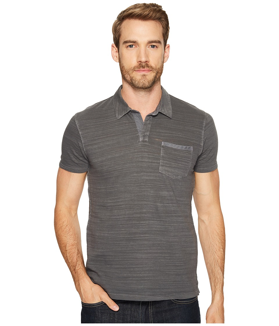 Lucky Brand - Johnny Collar Polo (Raven) Men's Clothing