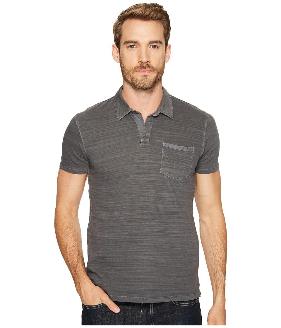 Lucky Brand - Johnny Collar Polo (Raven) Men's Clothing