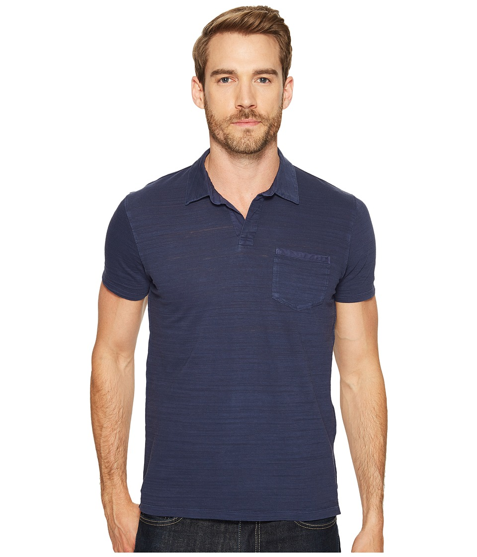 Lucky Brand - Johnny Collar Polo (Navy Blazer) Men's Clothing