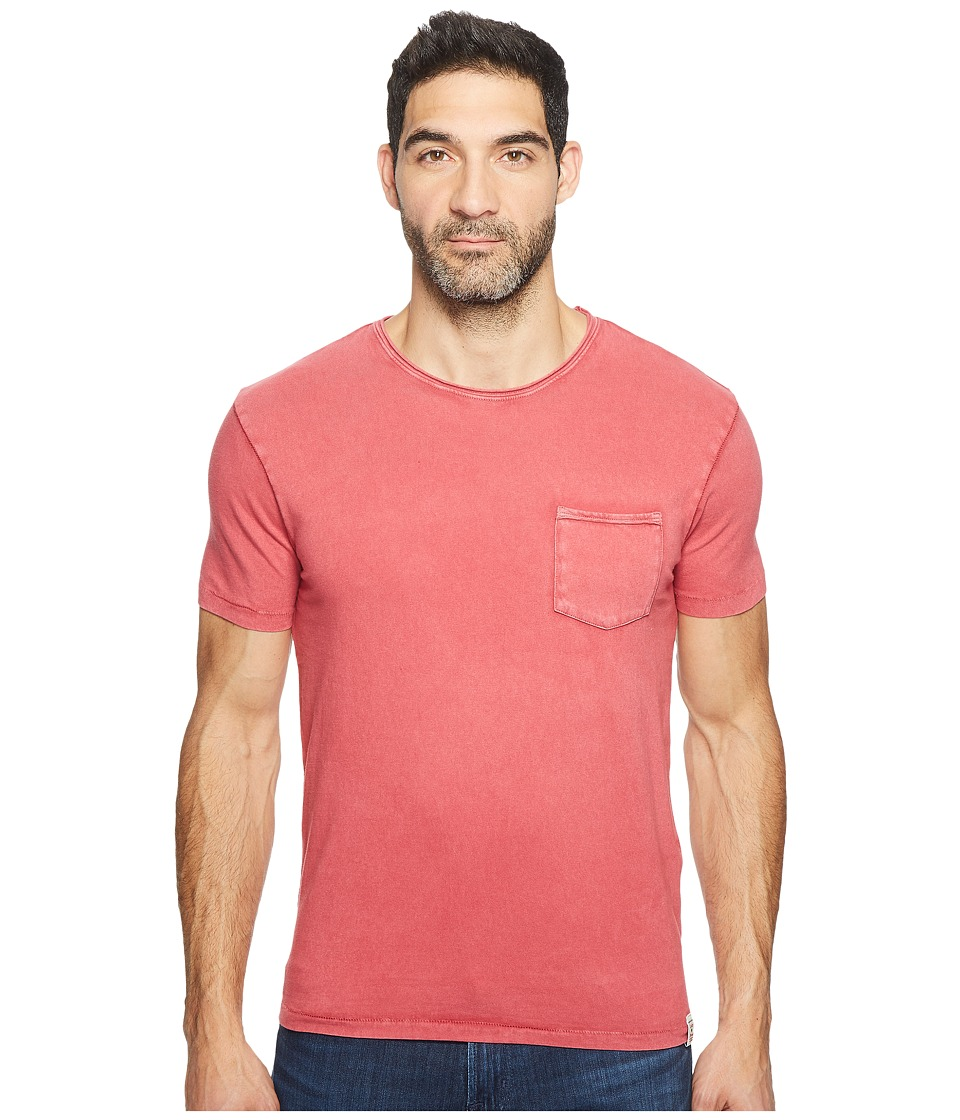 Lucky Brand - Rolled Neck Crew (Deep Claret) Men's Clothing