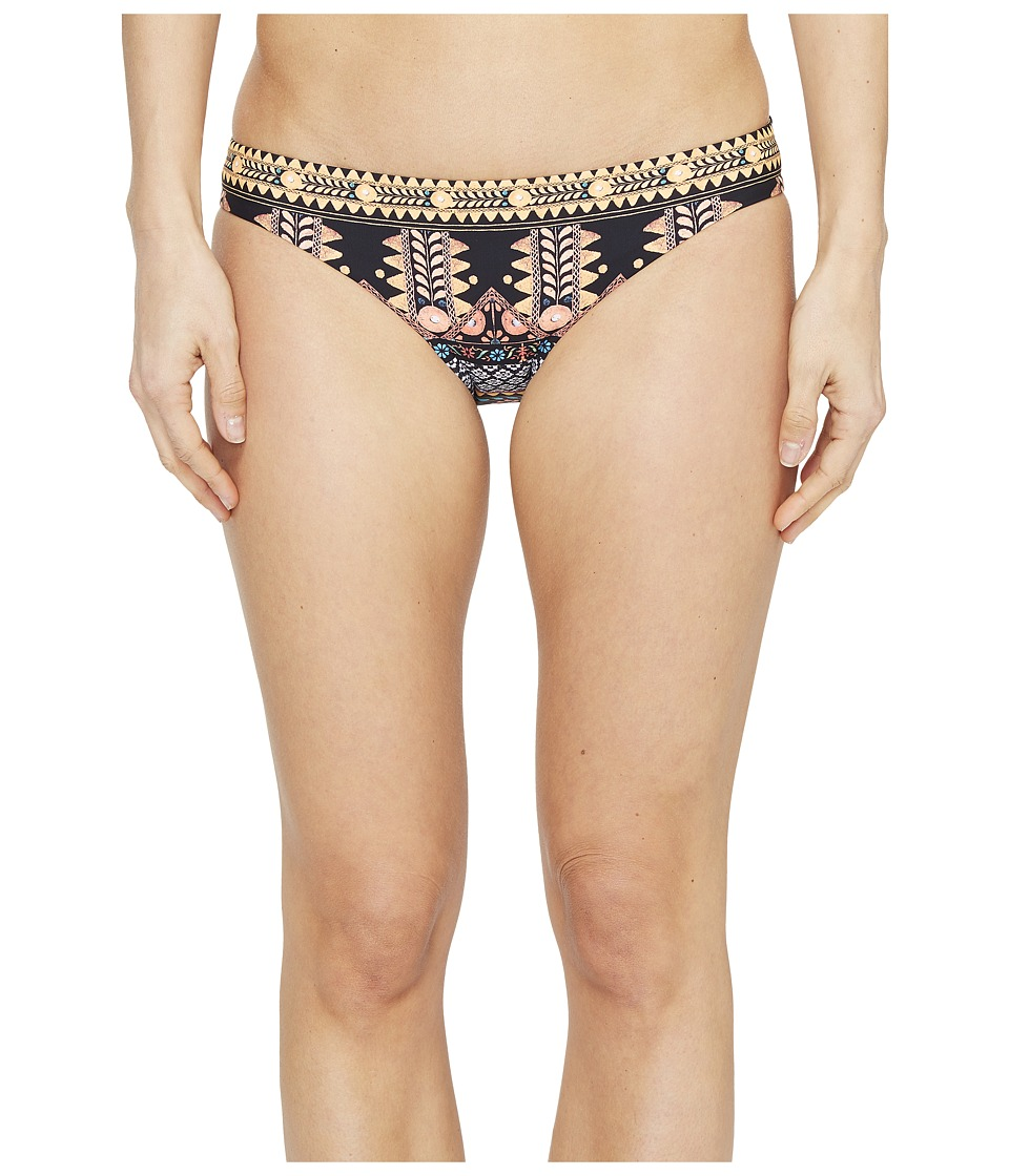 Seafolly - Spice Temple Hipster Bottom (Black) Women's Swimwear