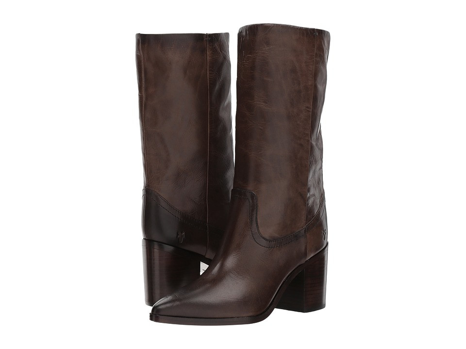 Frye Flynn Mid Pull-On (Slate) Women
