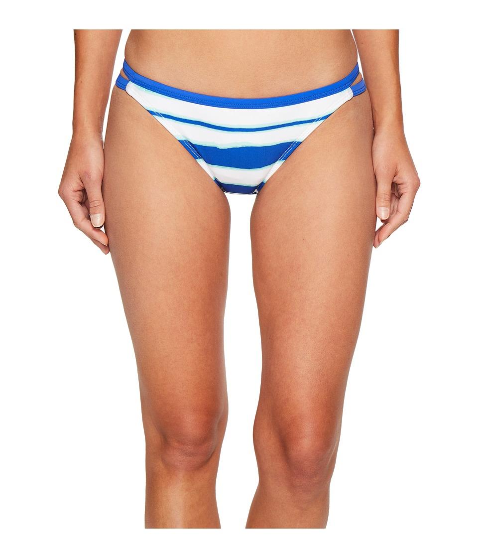 Nautica Morning Horizon Double Tab Side Pants Bottom (Azure) Women