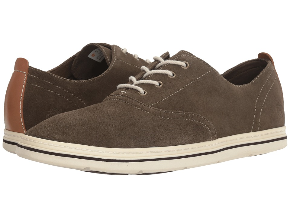 Timberland - Coles Point Plain Toe Oxford (Olive) Men's Shoes