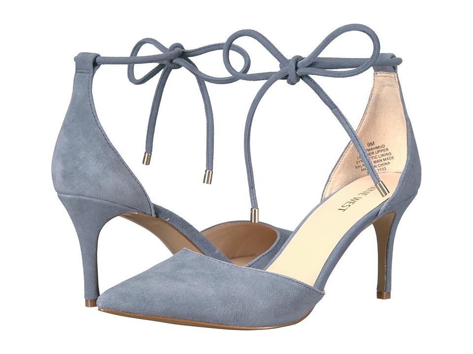 Nine West - Mahmud (Blue Suede) Women's Shoes