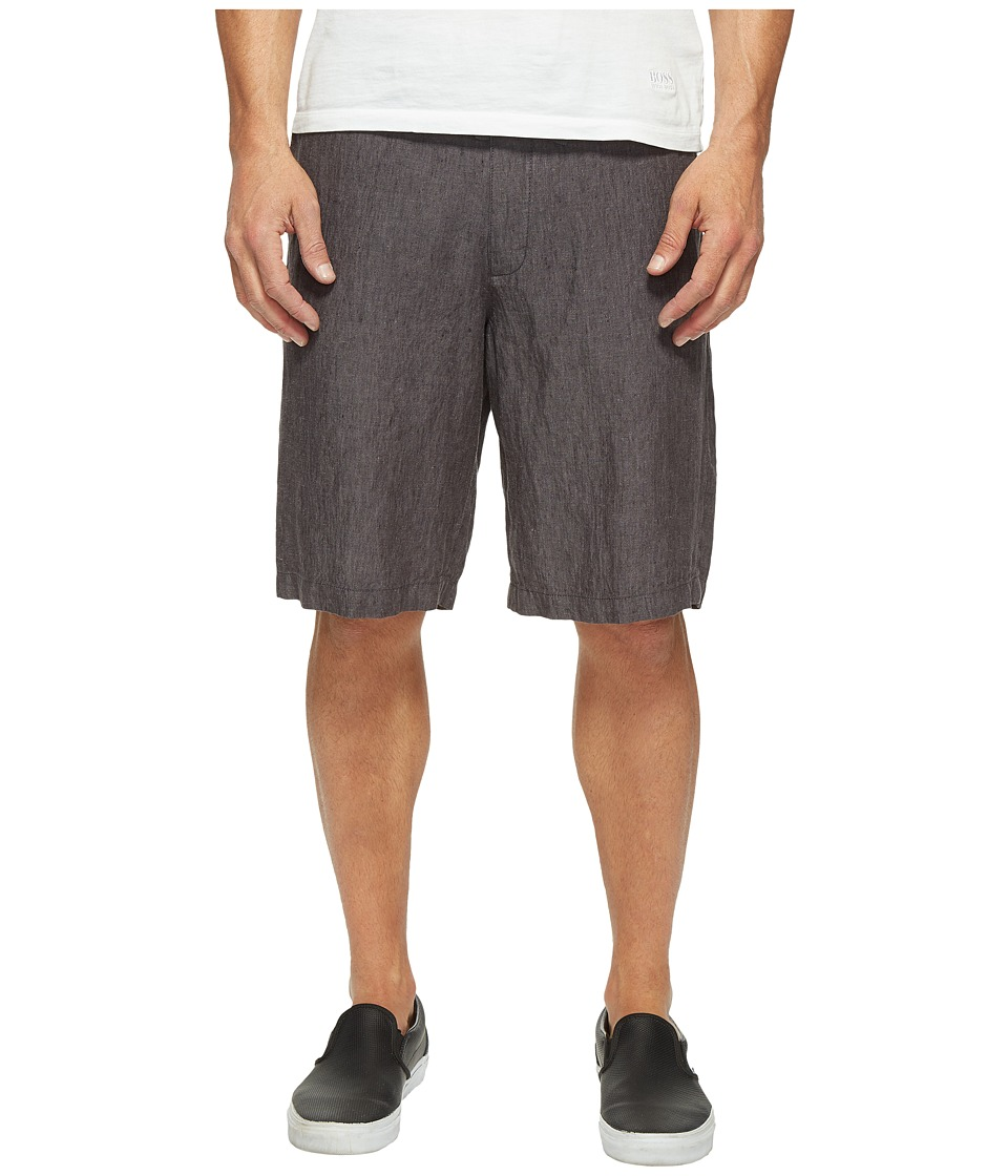 Perry Ellis - Linen Drawstring Shorts (Slate) Men's Shorts
