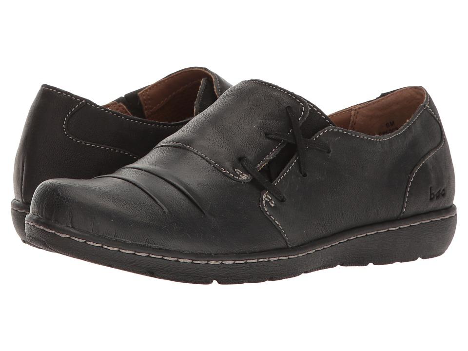 B O C Delaney Black Full Grain Women S Shoes