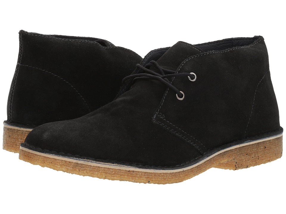 RUSH by Gordon Rush Owen (Black Suede) Men