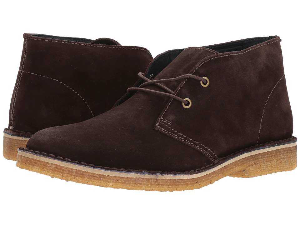 RUSH by Gordon Rush - Owen (Espresso Suede) Men's Shoes