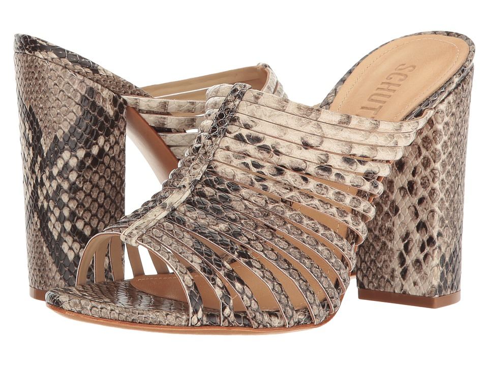 Schutz - Veronika (Summer Snake) Women's Shoes
