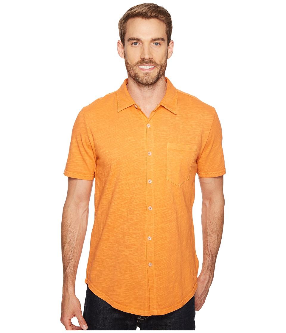 Mod-o-doc - Montana Short Sleeve Button Front Shirt (Tropicana) Men's Short Sleeve Button Up