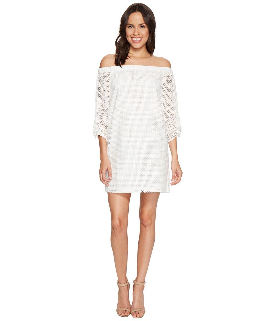 1.STATE - Off Shoulder Dress (Cloud) Women's Dress
