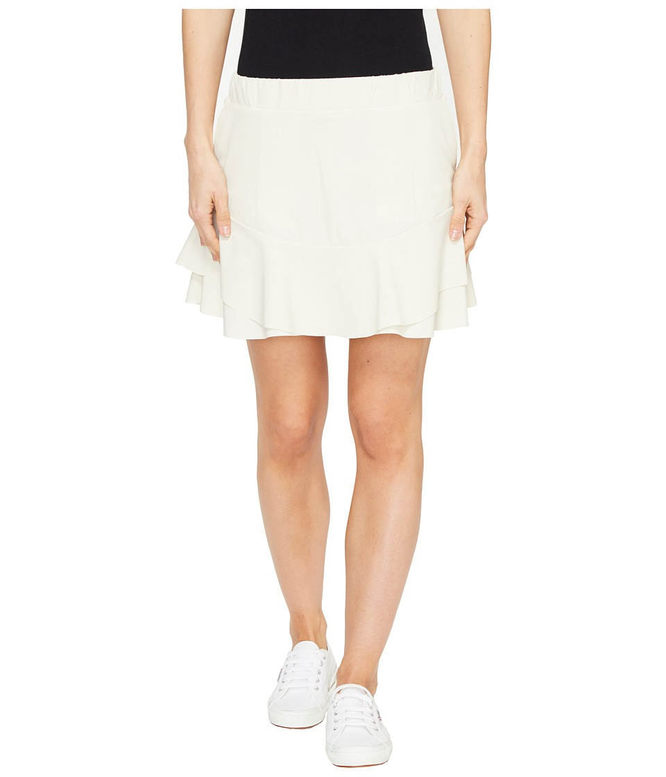 Vineyard Vines Golf - Carrot Rock Flounce Skort (Stone) Women's Skort