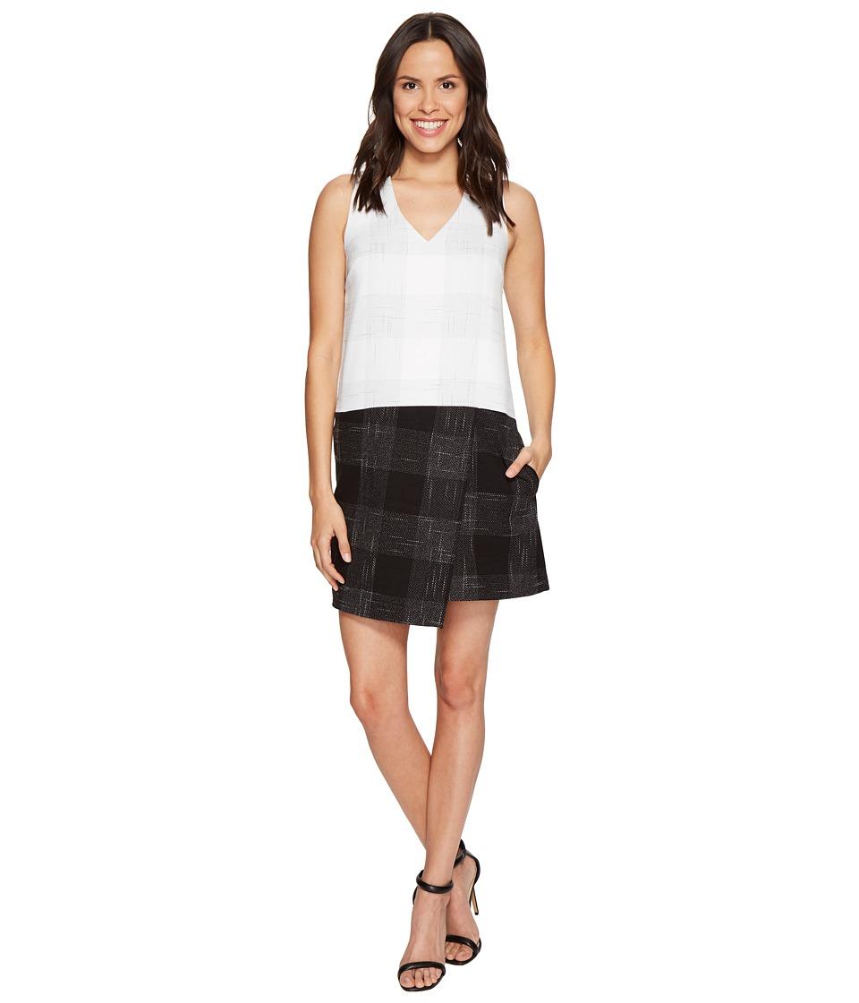 1.STATE - Sleeveless Asymmetrical Hem (New Ivory) Women's Clothing