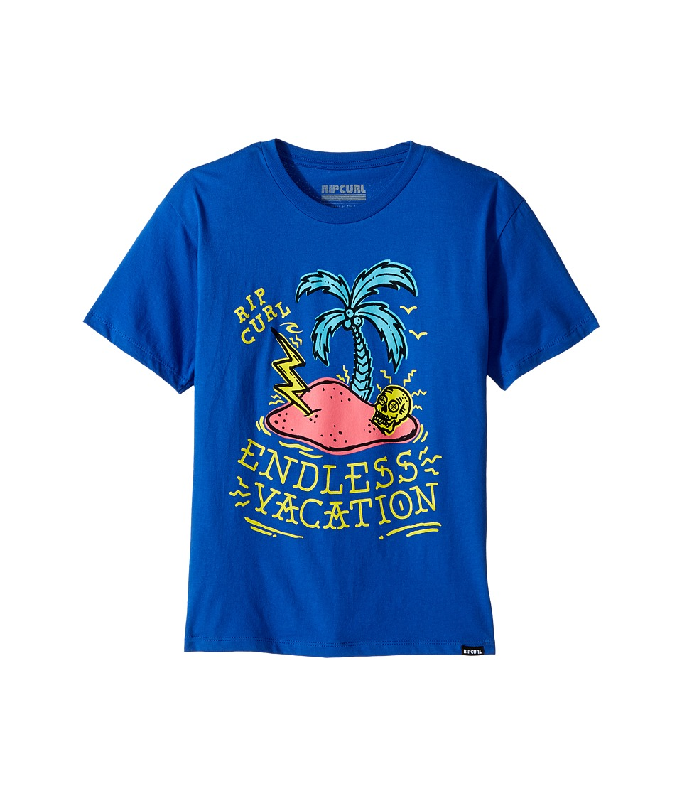 Rip Curl Kids - Endless Vacation Premium Tee (Big Kids) (Royal) Boy's T Shirt
