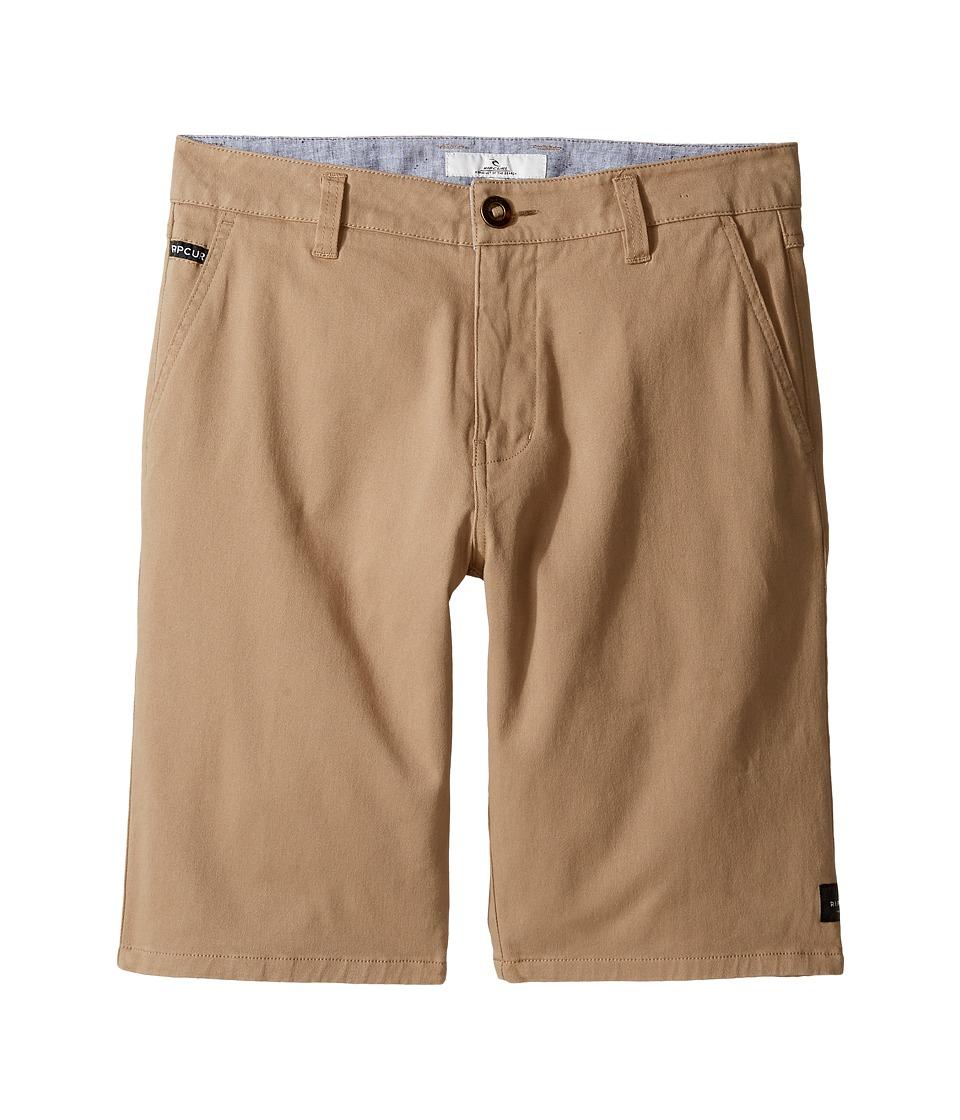 Rip Curl Kids - Epic Stretch Chino (Big Kids) (Khaki) Boy's Shorts