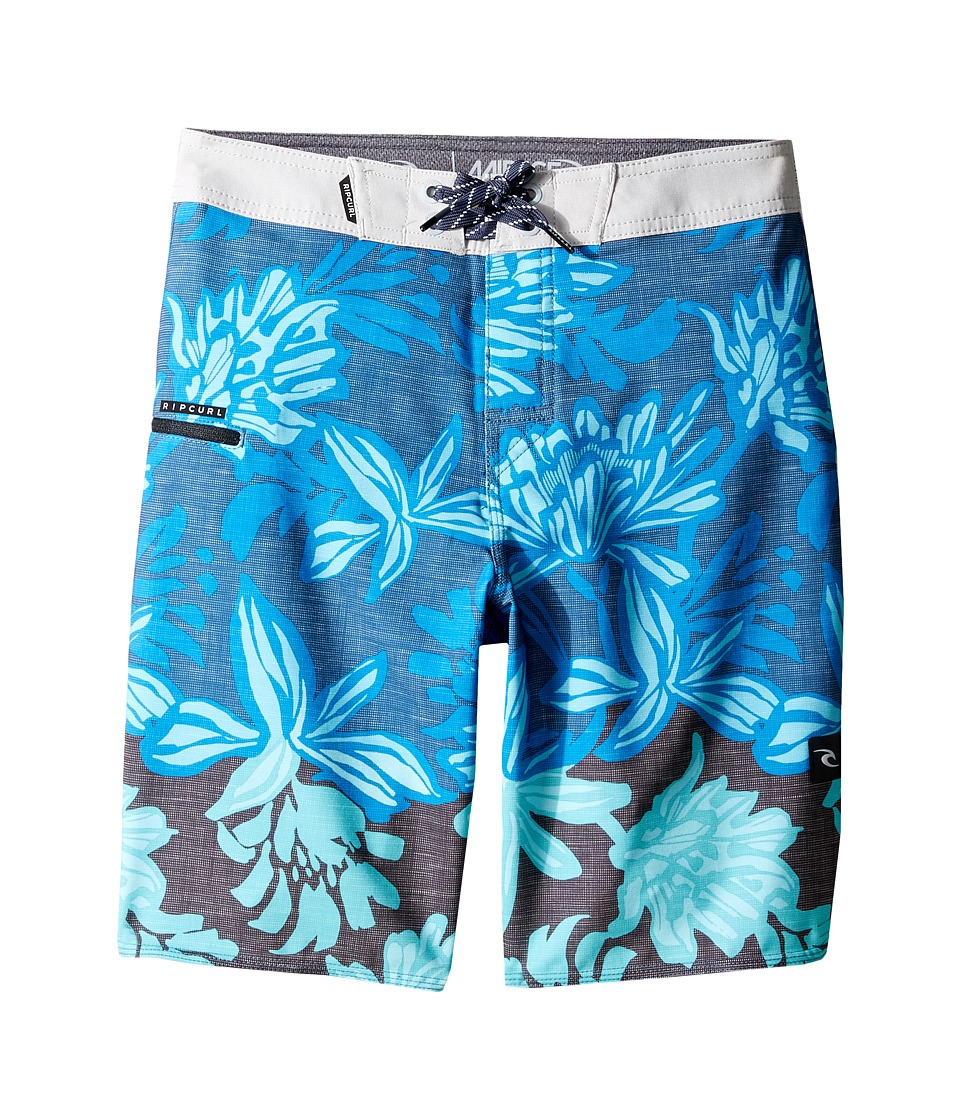 Rip Curl Kids - Mirage Watchtower Boardshorts (Big Kids) (Blue) Boy's Swimwear