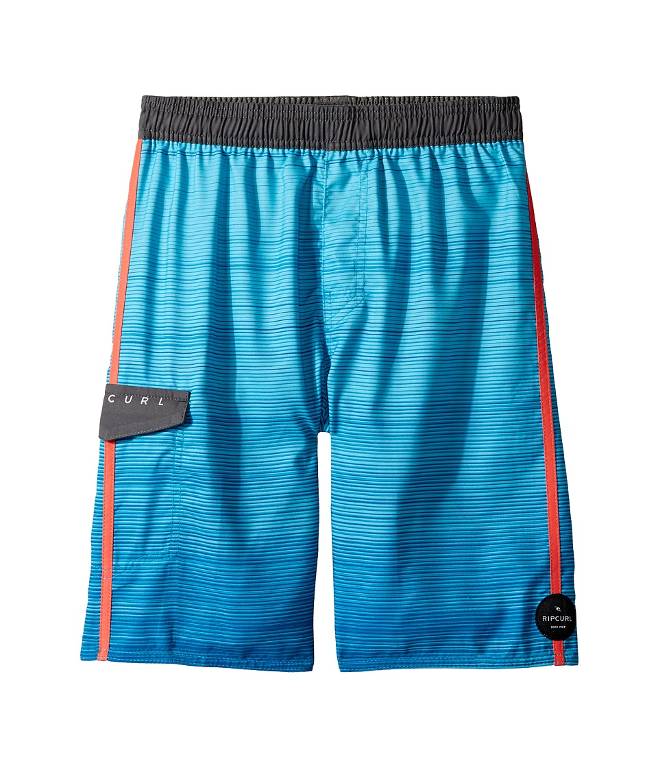 Rip Curl Kids Amplify Volley Boardshorts (Big Kids) (Blue) Boy