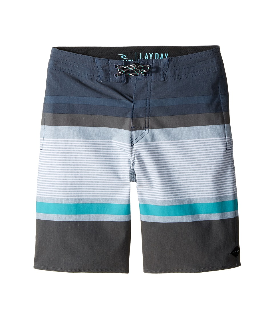 Rip Curl Kids - Rapture Layday Boardshorts (Big Kids) (Navy) Boy's Swimwear