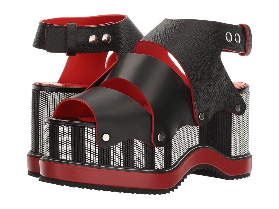 Proenza Schouler - PS28200 (Nero) Women's 1-2 inch heel Shoes