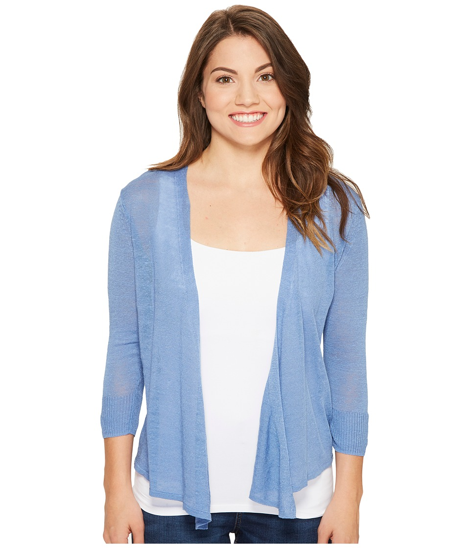 NIC+ZOE - Petite Four-Way Cardy (Blue Haze) Women's Sweater