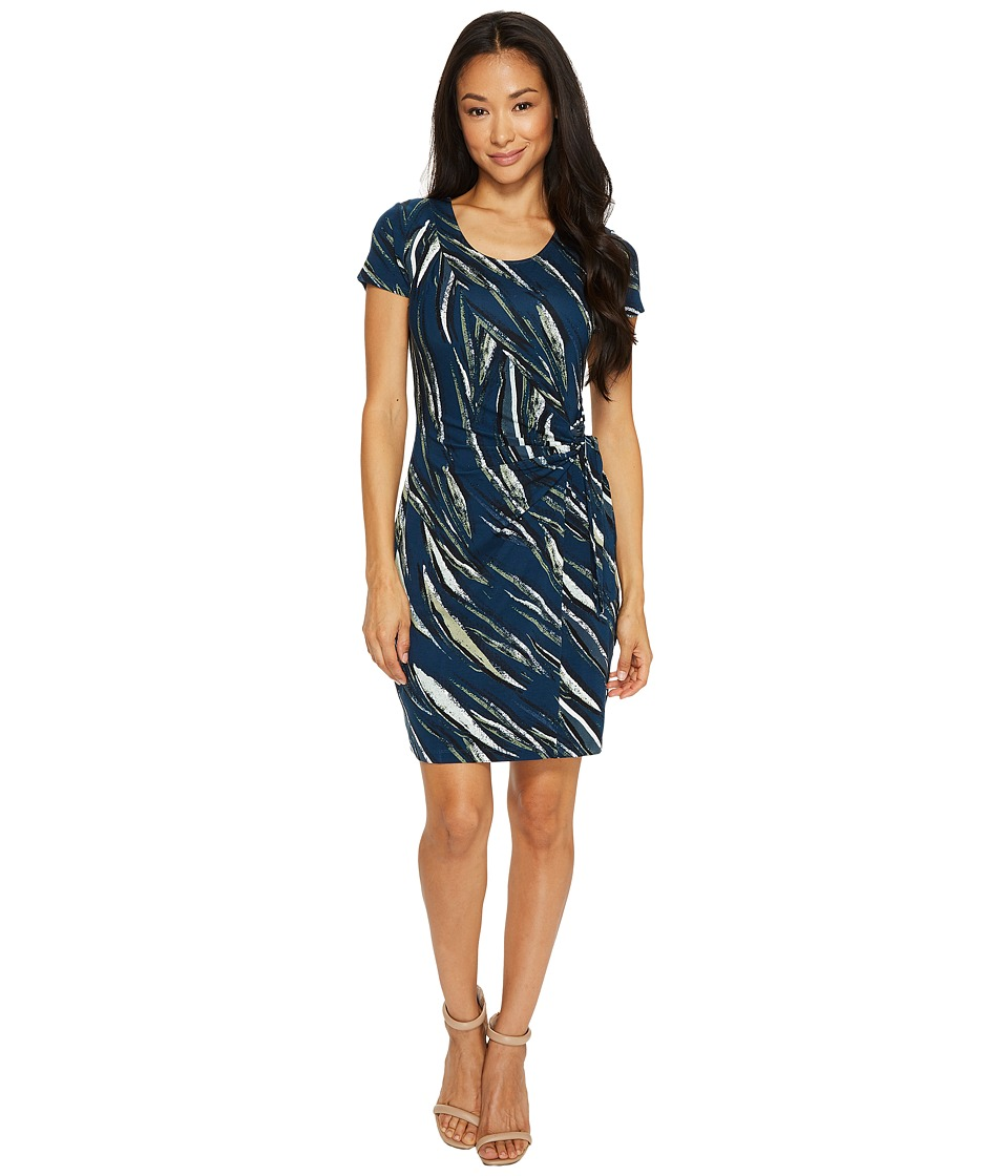 NIC+ZOE - Petite Tiger Lily Dress (Multi) Women's Dress