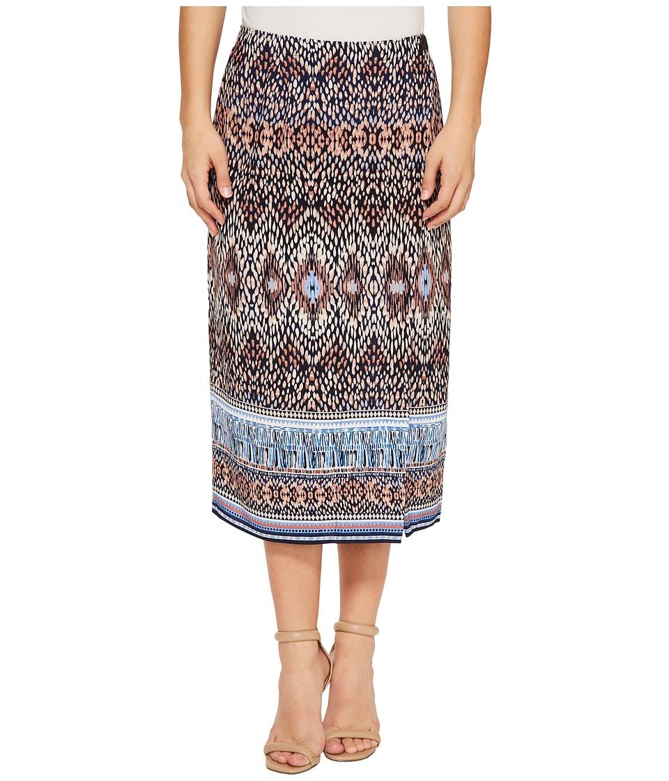 NIC+ZOE - Petite Casa Blanca Skirt (Multi) Women's Skirt