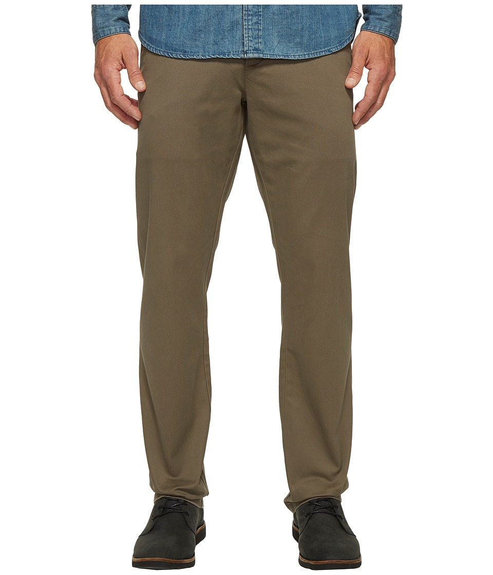 Dockers Premium - Clean Chino - Slim Tapered (Dark Pebble) Men's Casual Pants