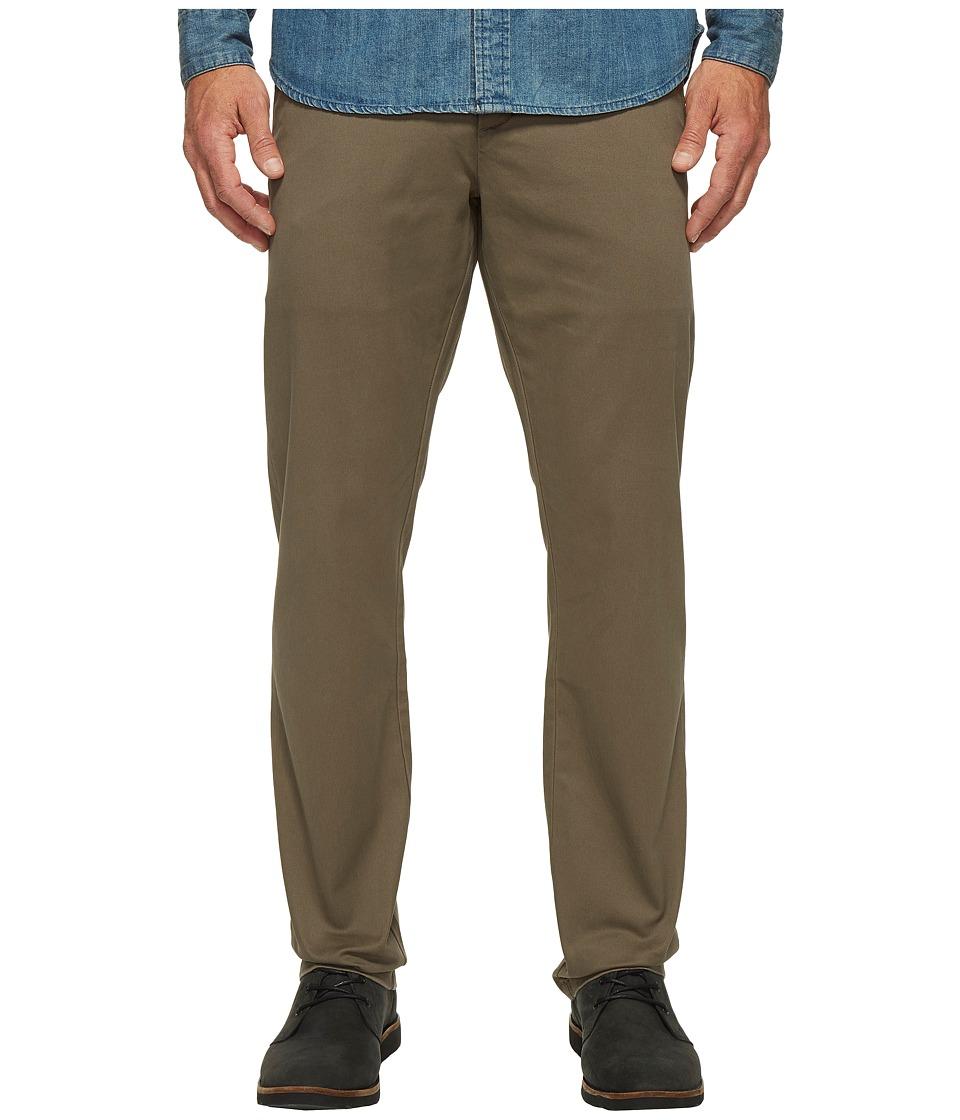 Dockers Premium - Clean Chino - Slim Tapered (Dark Pebble) Men's Casual Pants