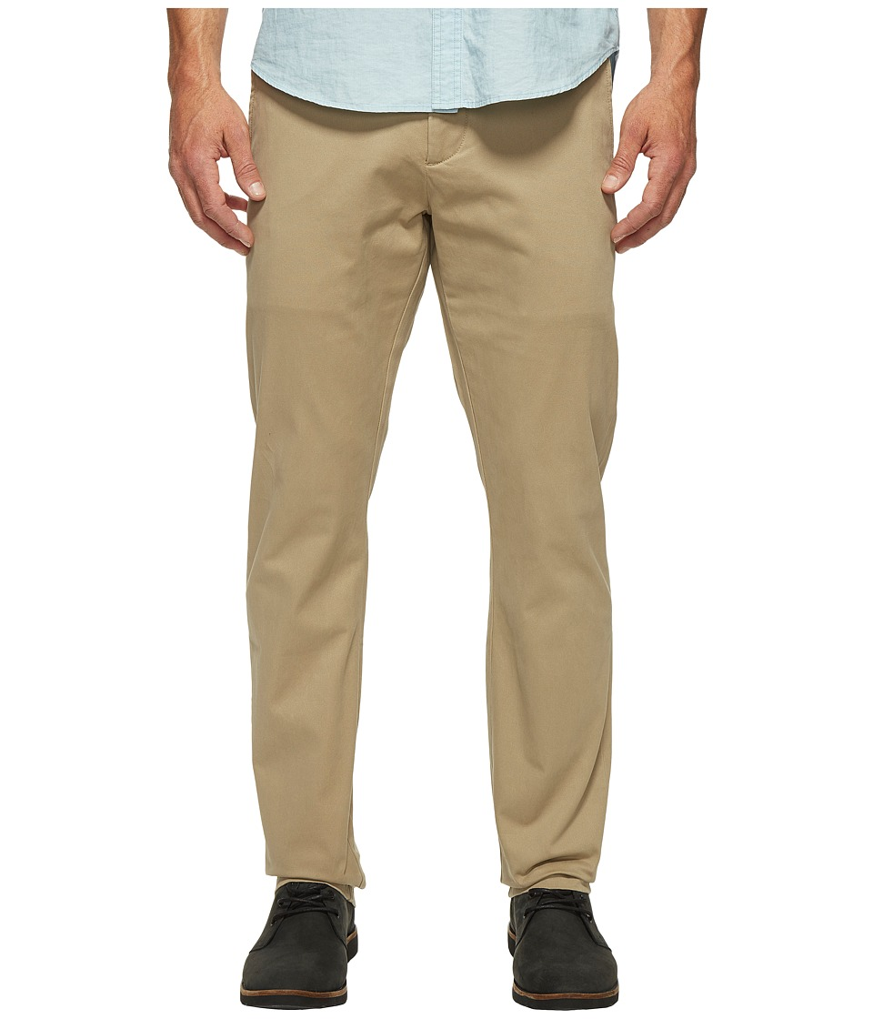 Dockers Premium - Clean Chino - Slim Tapered (British Khaki) Men's Casual Pants
