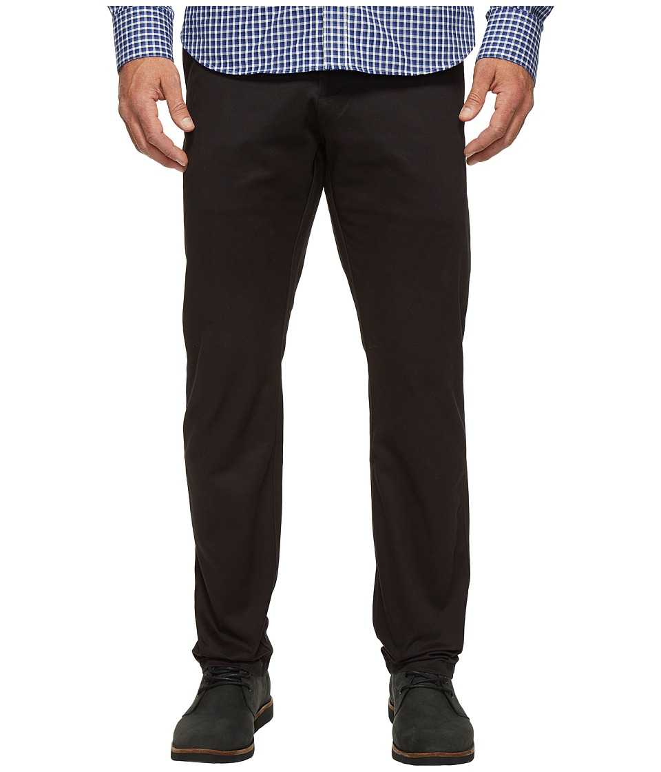 Dockers Premium - Clean Chino - Slim Tapered (Black) Men's Casual Pants
