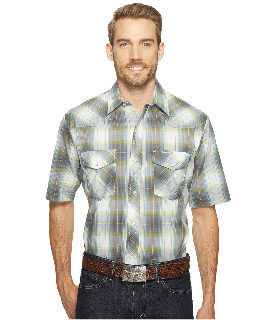 Roper - 1027 Multi Green Plaid (Green) Men's Clothing