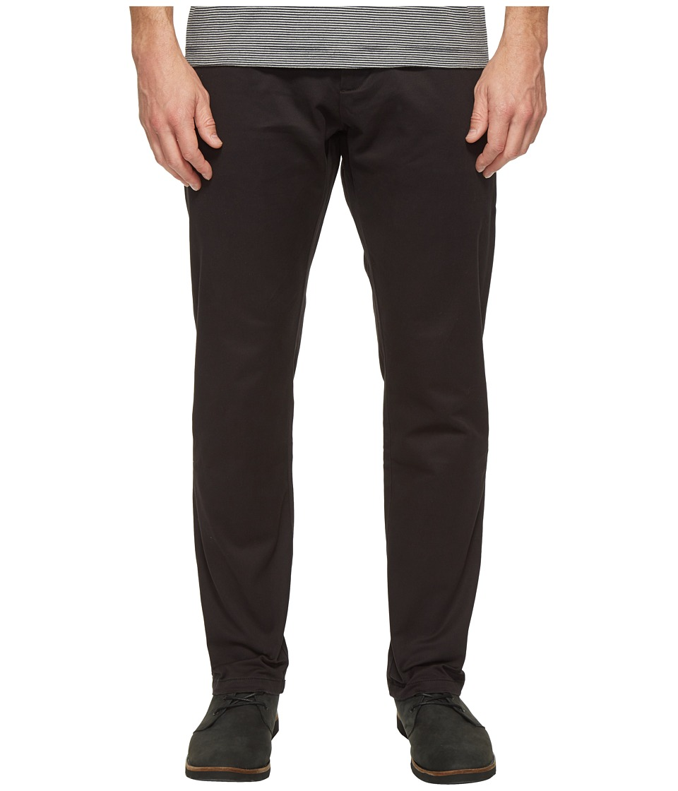 Dockers Premium - Clean Chino - Athletic Fit (Black) Men's Casual Pants