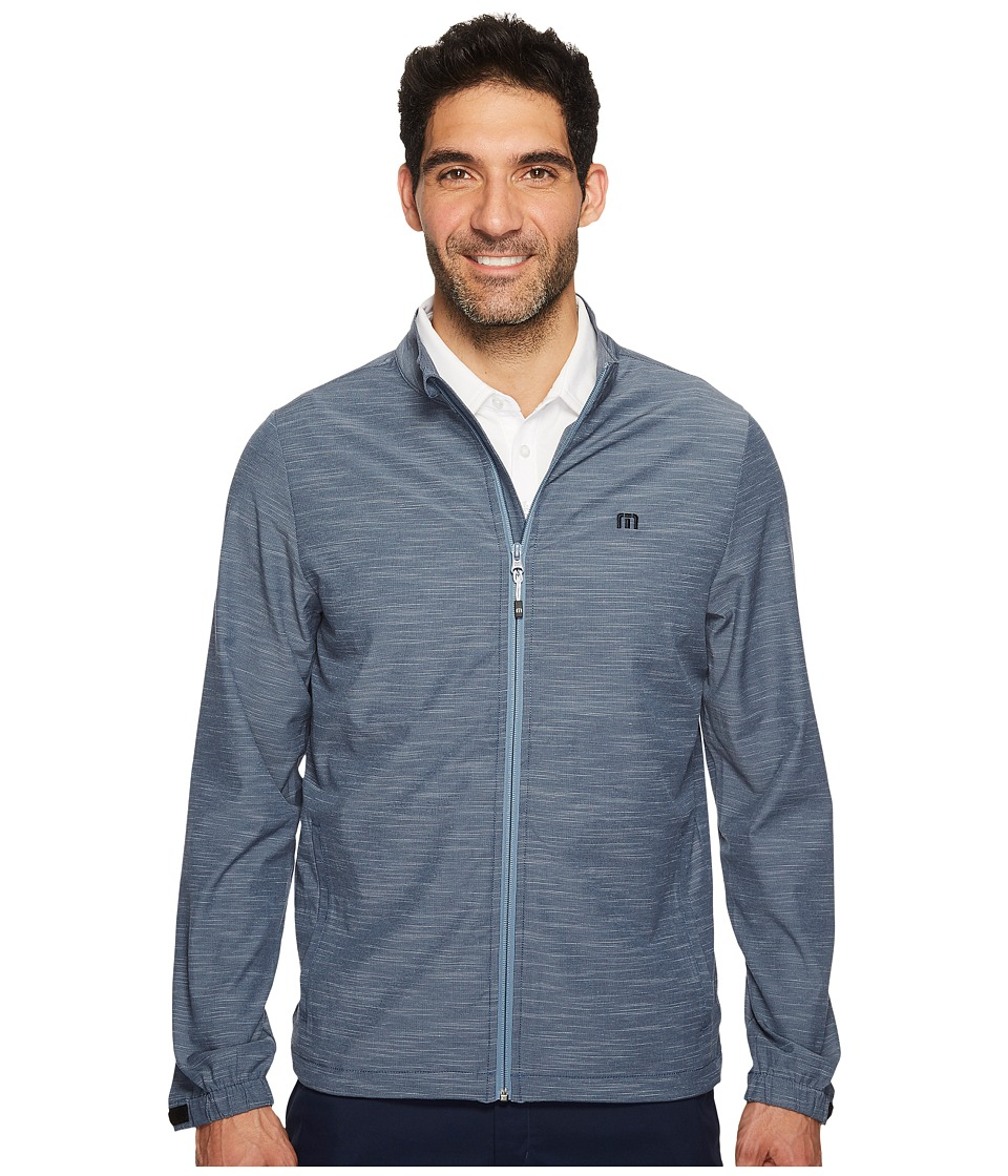 TravisMathew - Hadley (Heather Blue Nights) Men's Coat