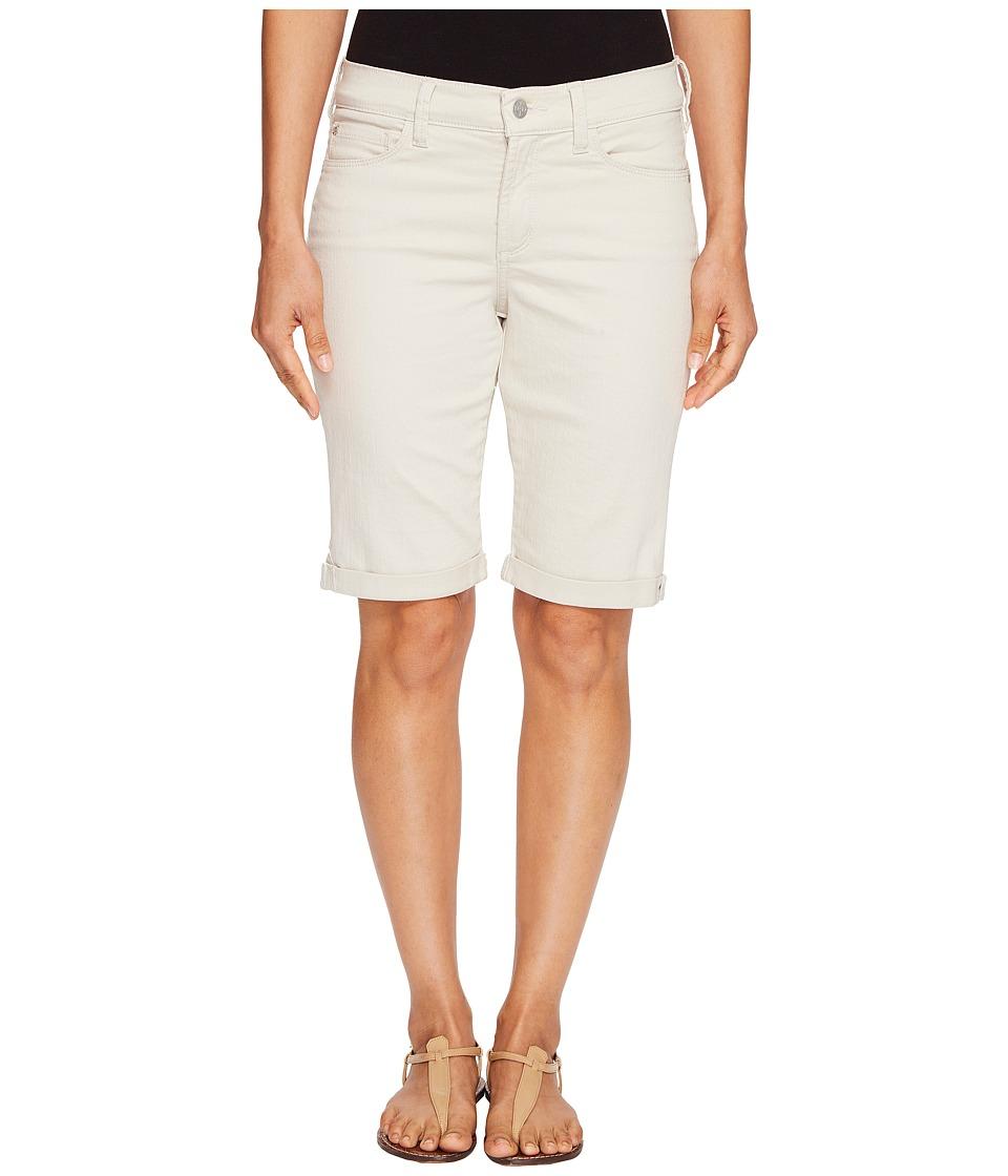 NYDJ Petite - Petite Briella Roll Cuff Shorts in Clay (Clay) Women's Shorts