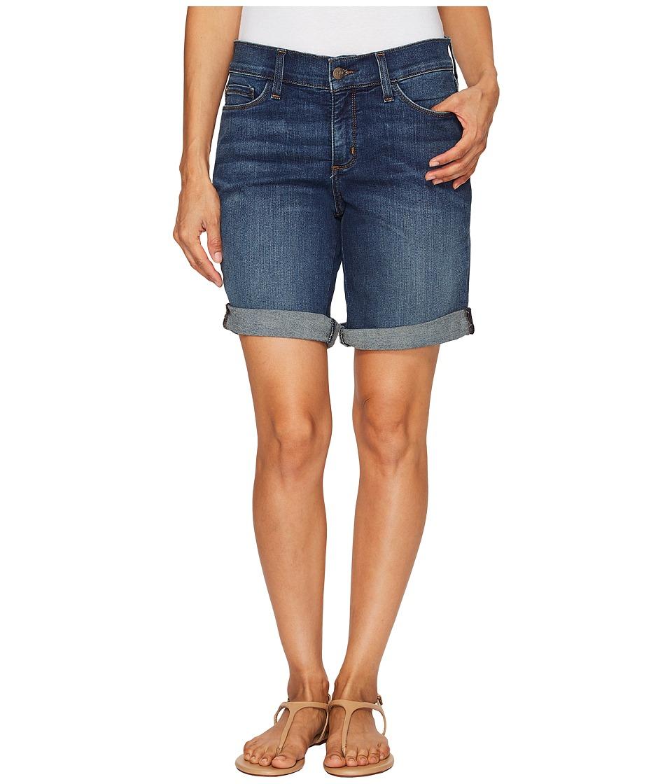NYDJ Petite - Petite Jessica Boyfriend Shorts in Oak Hill (Oak Hill) Women's Shorts