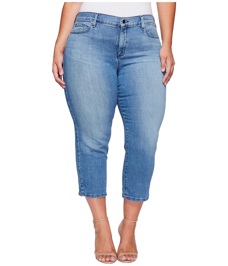 NYDJ Plus Size - Plus Size Marilyn Capris in Jet Stream (Jet Stream) Women's Jeans