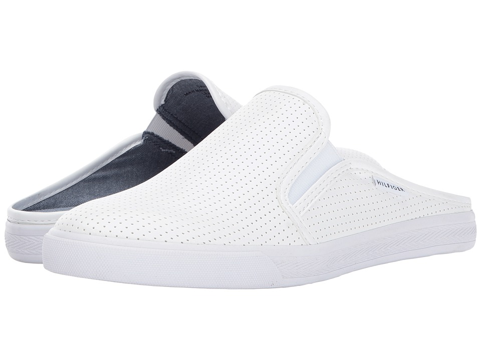 Tommy Hilfiger - Frank 5 (White) Women's Shoes