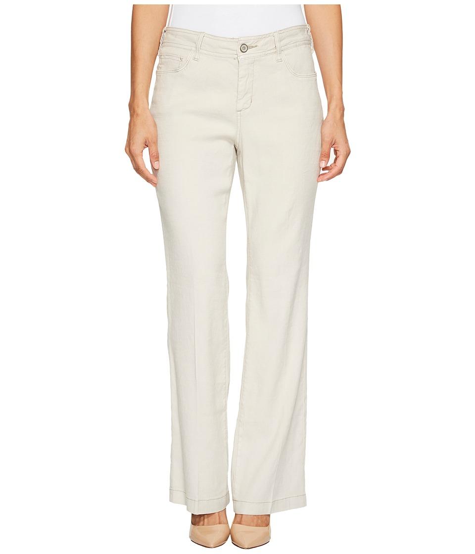 NYDJ Petite - Petite Wylie Trousers in Stone (Stone) Women's Jeans